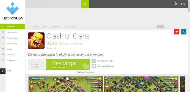 Up to Down es el repositorio en español más famoso, puedes encontrar cientas de aplicaciones para la tablet Canaima