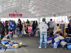 Venezolanos sin visa en Rumichaca