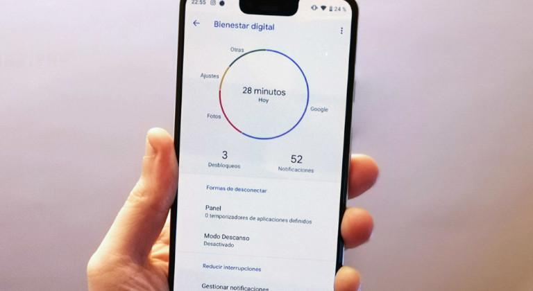 Bienestar Digital Burbujas de Actividad