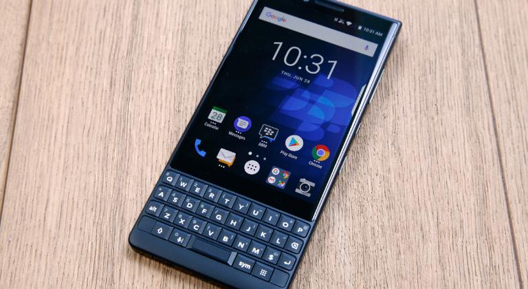 Blackberry key2 fue el último dispositivo de la marca junto a TCL