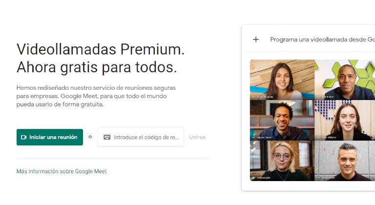 El serviciode videoconferencias Google Meet es gratis para todos