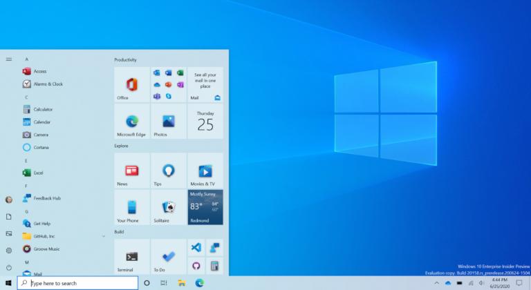 La versión de pruebas 20161 de Windows 10 remueve la ventana de Sistema del Panel de Control