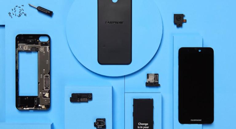 El Fairphone 3 está hecho de plástico reciclado y piezas que pueden intercambiarse fácilmente en caso de dañarse