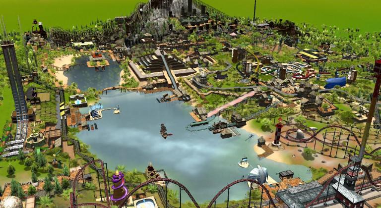 Roller Coaster Tycoon 3: Complete Edition, está de regalo en la Epic Games Store