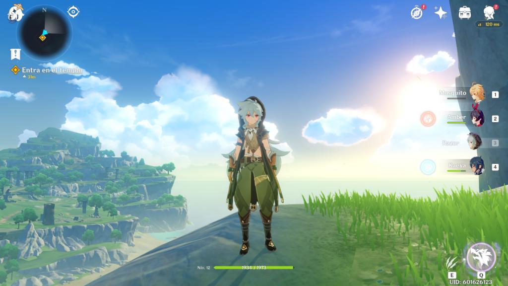Incluso en la configuración mínima, los gráficos del juego consiguen absorberte