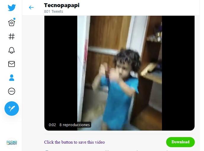 Cómo descargar videos de Twitter con SSSTwitter.com