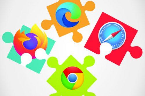 Todos los navegadores populares soportan extensiones para hacer de todo