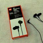 Audífonos cableados Mi Earphones Basic