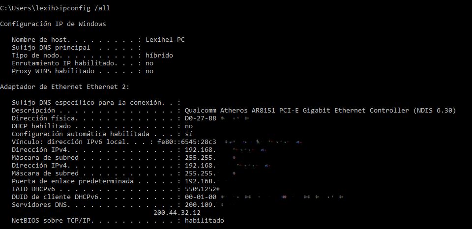 Así puedes saber la dirección MAC de tu PC con el Símbolo del Sistema
