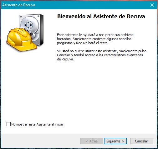 Recupera archivos borrados de tu PC con Recuva para Windows