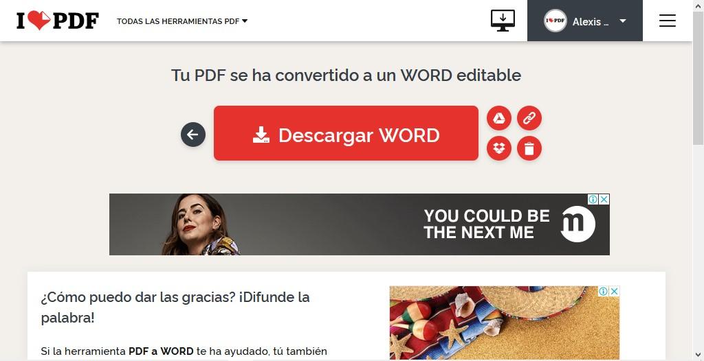 cómo editar y convertir archivos PDF gratis - opciones de descarga