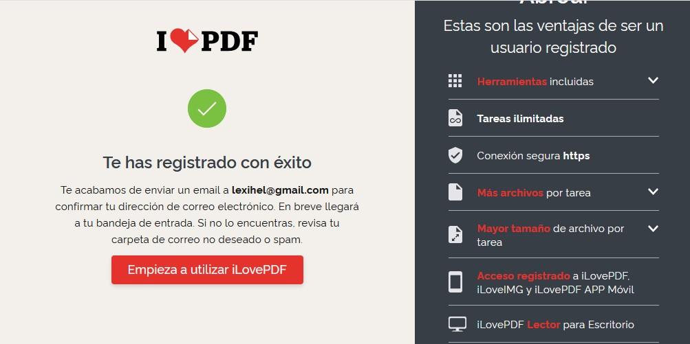 cómo editar y convertir archivos PDF gratis - inicio