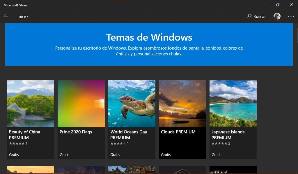 Los temas de Windows son un modo oficial y divertido de personalizar Windows 10