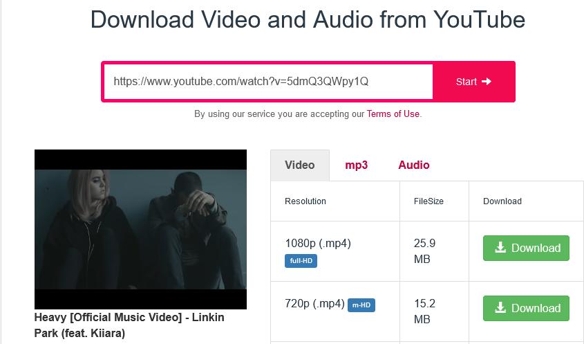 Puedes descargar música de Youtube con este servicio