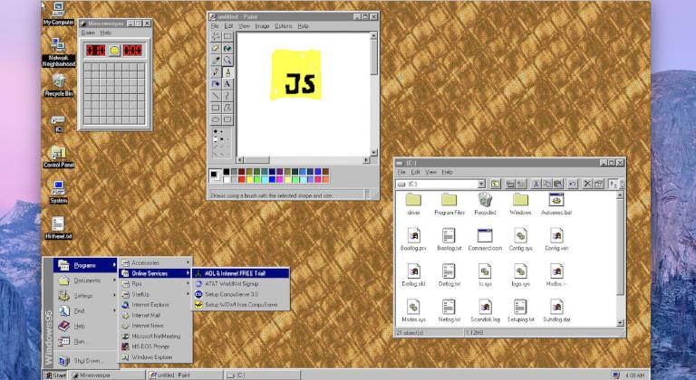 Windows 95 tiene casi 26 años