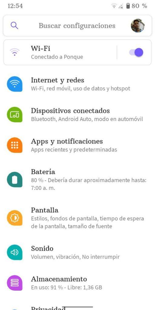 saber la dirección MAC en Android 1