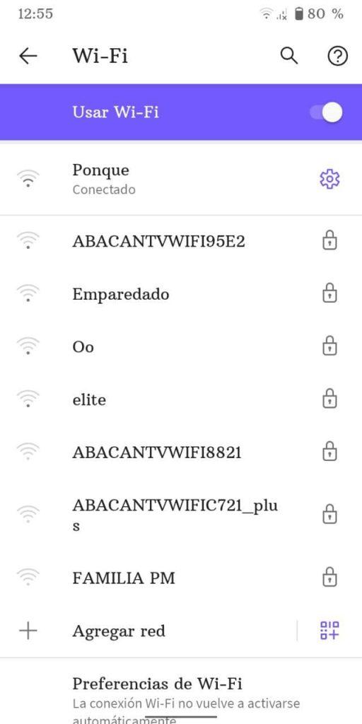 saber la dirección MAC en Android 3