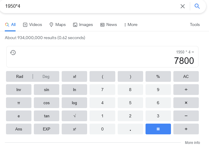 Trucos de Google como la calculadora hacen más fácil el trabajo diario