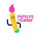 papeles a color